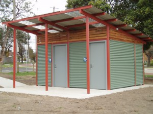 Twin Disabled Restroom – Greenwood Park, Ringwood