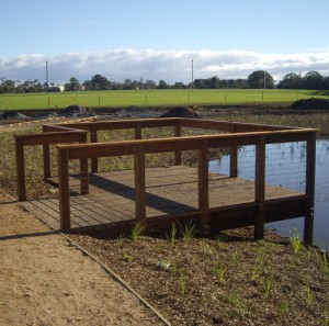 4 x 3m Viewing Platform – Carrum Downs Recreation Reserve
