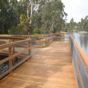 Custom 'T-Shaped' Jetty – Kennington Reservoir, Bendigo