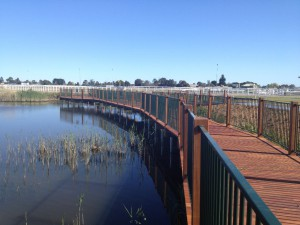 Caulfield Racecourse Boardwalk
