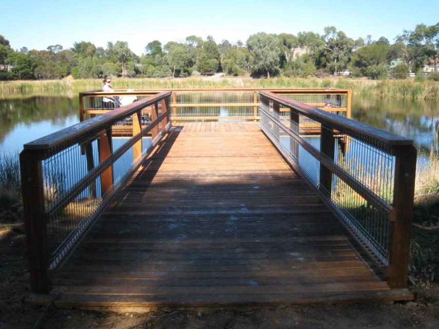 6m Viewing Platform – Merri Creek All Custom Timber Decking ...