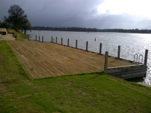 Nagambie, Viewing Platform/Jetty