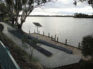 Ramp Access, Nagambie Boardwalk