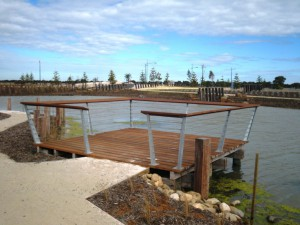 Viewing Platform – Saltwater Coast, Point Cook