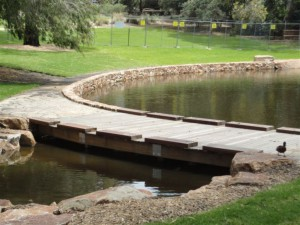 Custom Footbridge, Frankston Botanical Gardens