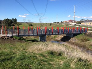 Two Footbridges – Darebin Creek