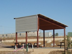 Custom Skillion Shelter – Carrum Downs