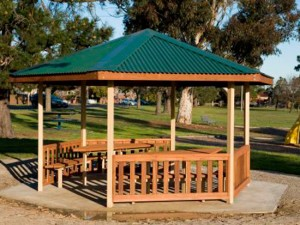 Gazebo – Moonee Vally