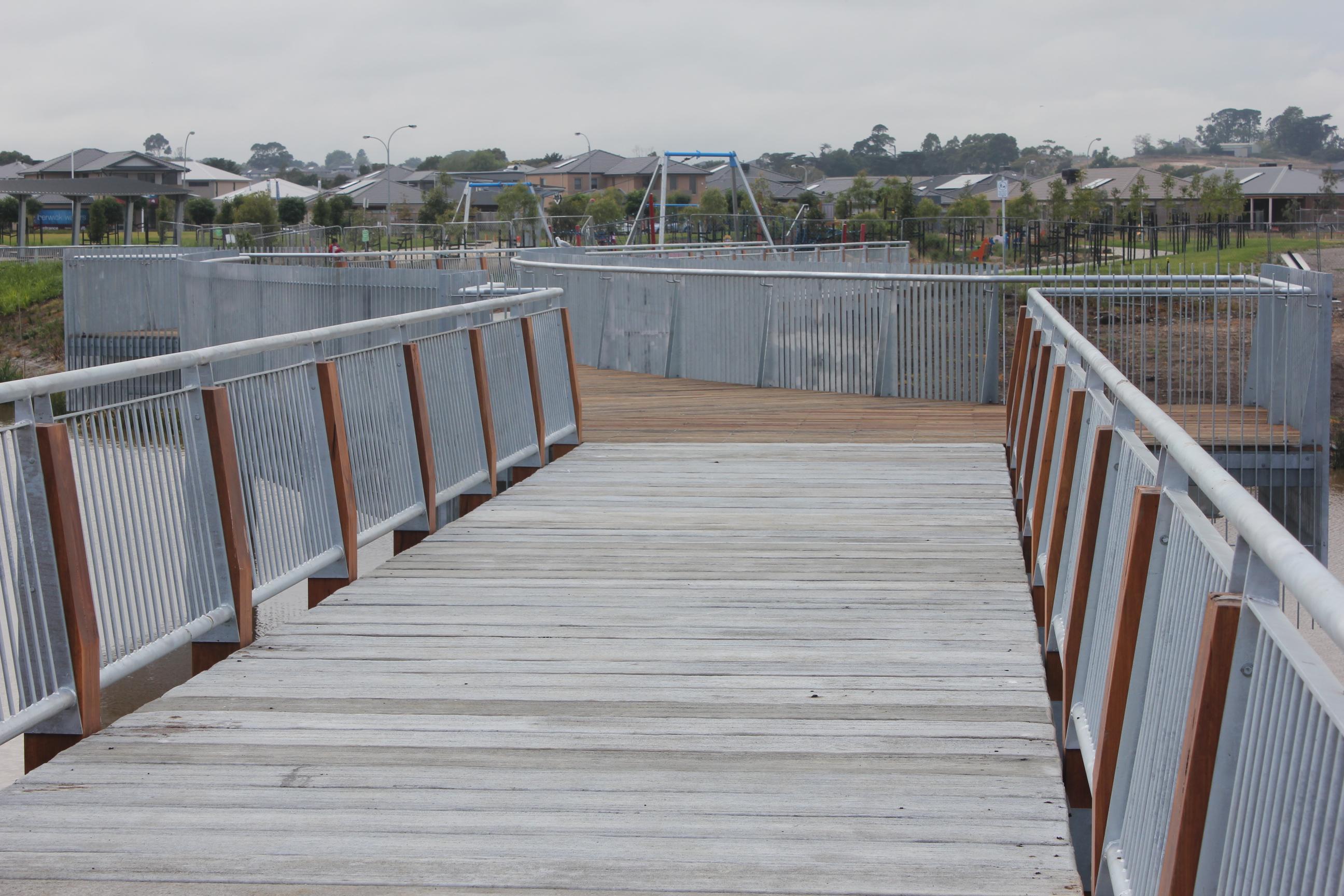 Australand - Berwick Waters Estate - Bridge Walk