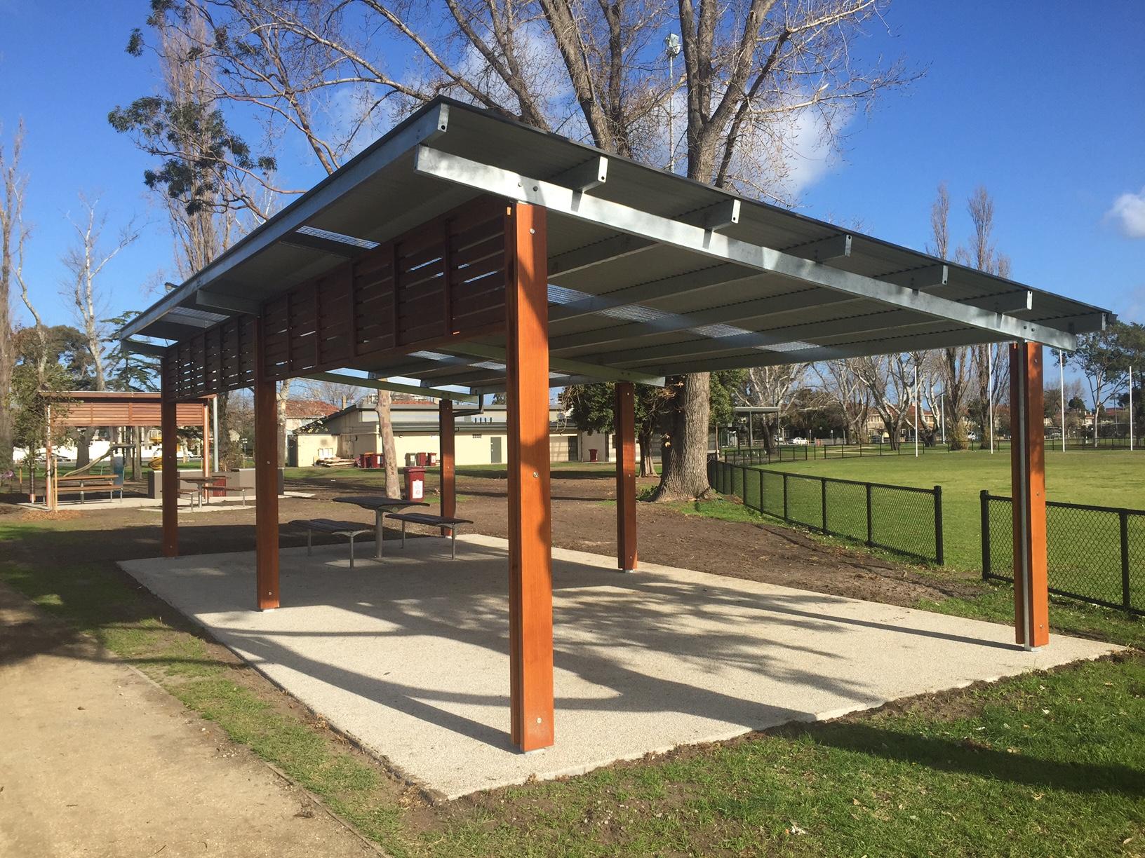 Grdc City Of Port Phillip Murphy Reserve Shelters