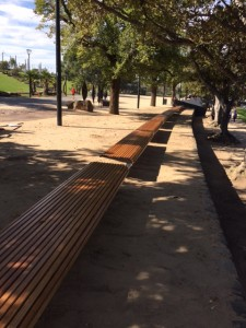 City of Melbourne – Birrarung Marr seat refurbishments.