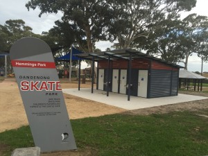 Dandenong City Council, Hemming's Reserve restroom upgrade
