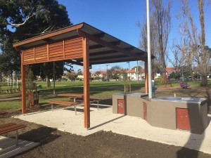City of Port Phillip, Murphy Reserve shelters