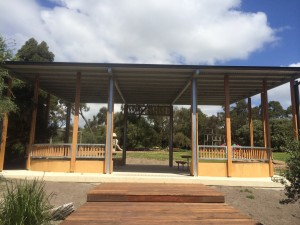 Frankston City Council – George Pentland Reserve, custom shelter and associated works