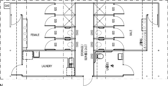 Restroom Floor Plans And Construction