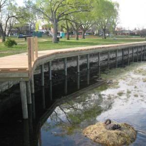 265m Timber Boardwalk – Lake Wendouree, Ballarat