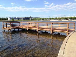 Fishing Jetty – Lakeside Pakenham