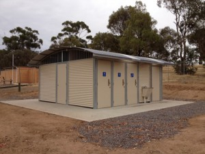 Woolshed Bay Restroom – Goulburn Murray Water