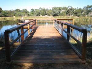 'T Shaped' Jetty – Lake Esmond, Ballarat
