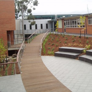 Broadwalk & Handrail – St Bernards College, Essendon
