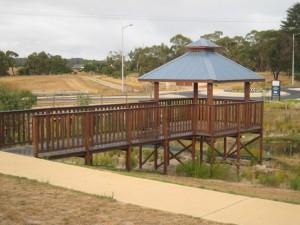 Pavillion Shelter on Viewing Platform – Mt Martha