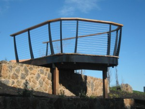 Viewing Platform with Stainless Steel Handrail – Province Estate, Highton