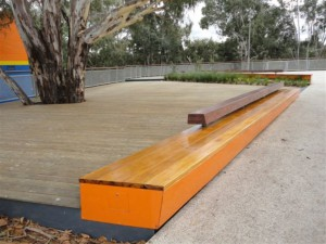 Decking and Seating, Werribee Plazza
