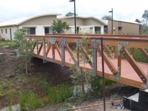 10 x 2m Timber Truss Bridge
