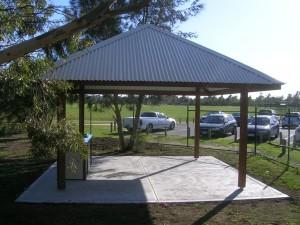 5 x 5m Pavillion – Mill Park