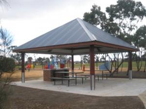 7 x 7m Pavillion Shelter – Melton