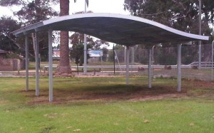 10 x 7m Wave Shelter – Moorabool