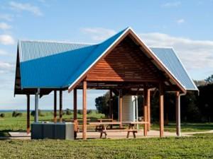 Multi Gable Roof Shelter – Frank Mann Reserve