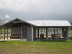Shelter with 2C1D Restroom
