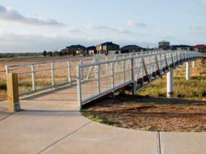 Steel Truss Footbridge