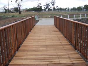 Timber Footbridge Horizons Estate