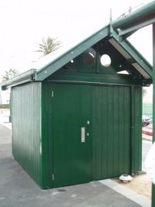 Yarra Trams 1D Restroom with Storeroom