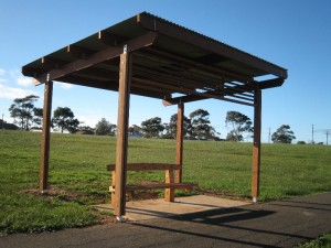 Geelong City Council – 4×4 Skillion Shelter