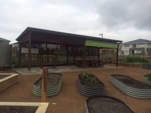 Landscape Solutions – GR Skillion Shelter