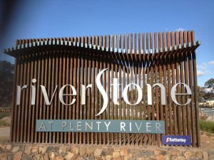 Riverstone Estate Entry Sign