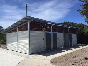 "Bass Coast Shire – Cape Paterson ""custom amenity building and change room"""
