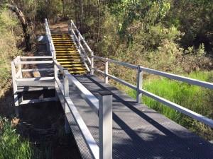 "Frankston Nature Reserve ""bridge, boardwalk and viewing platform"""