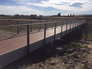 Beveridge Williams – Clarinda Estate foot bridge