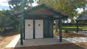 Campaspe Shire – Kyabram Restroom and shelter project.