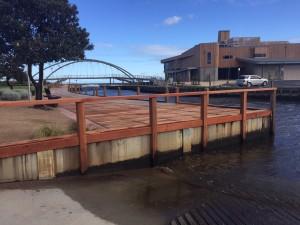 Frankston City Council, Kananook Creek retaining walls & boardwalk renewal.