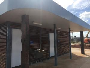 Woodlea Estate – Shelter & Restroom