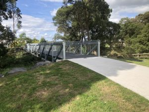 Bayport Group – 35m clear span Truss bridge and associated works