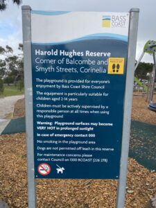 Bass Coast Shire – Harold Hughes Rsv